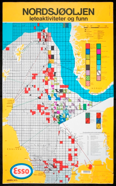 North Sea map